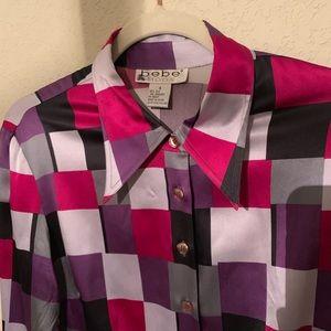 Bebe Silk Shirt